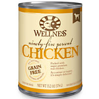Wellness 95% Chicken Adult Canned Dog Food