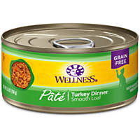 Wellness Adult Canned Cat Food, Turkey