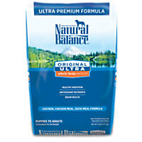 Natural Balance Original Ultra Whole Body Health Dog Food