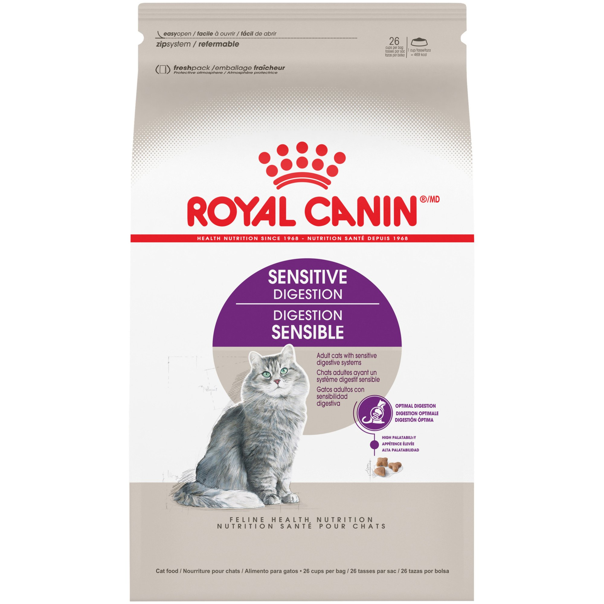 royal canin feline health nutrition sensitive digestion. Black Bedroom Furniture Sets. Home Design Ideas