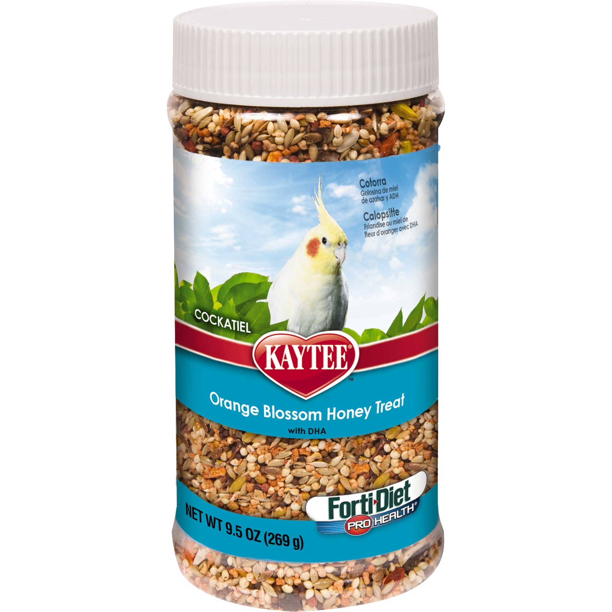 Kaytee Forti-Diet Pro Health Orange Blossom Honey Cockatiel Treats