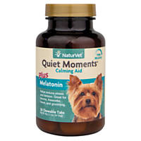 NaturVet Quiet Moments Time Release Chewable Tablets for Dogs
