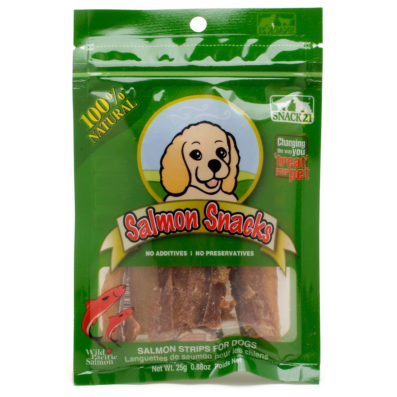 Snack 21 Natural Salmon Snacks for Dogs