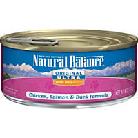 Natural Balance Ultra Premium Chicken, Duck, Liver & Salmon Canned Cat Food Ultra Formula