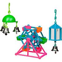 Petco Ferris Wheel Bird Toy Value Pack