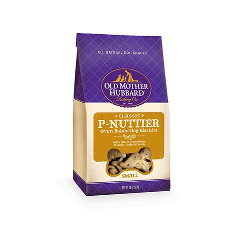 Old Mother Hubbard Classic Oven Baked Small P-Nuttier Dog Biscuits