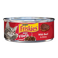 Friskies Prime Filets with Beef in Gravy Cat Food