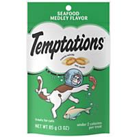 Whiskas Temptations Seafood Medley Cat Treats