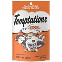 Whiskas TEMPTATIONS Classic Tantalizing Turkey Cat Treats