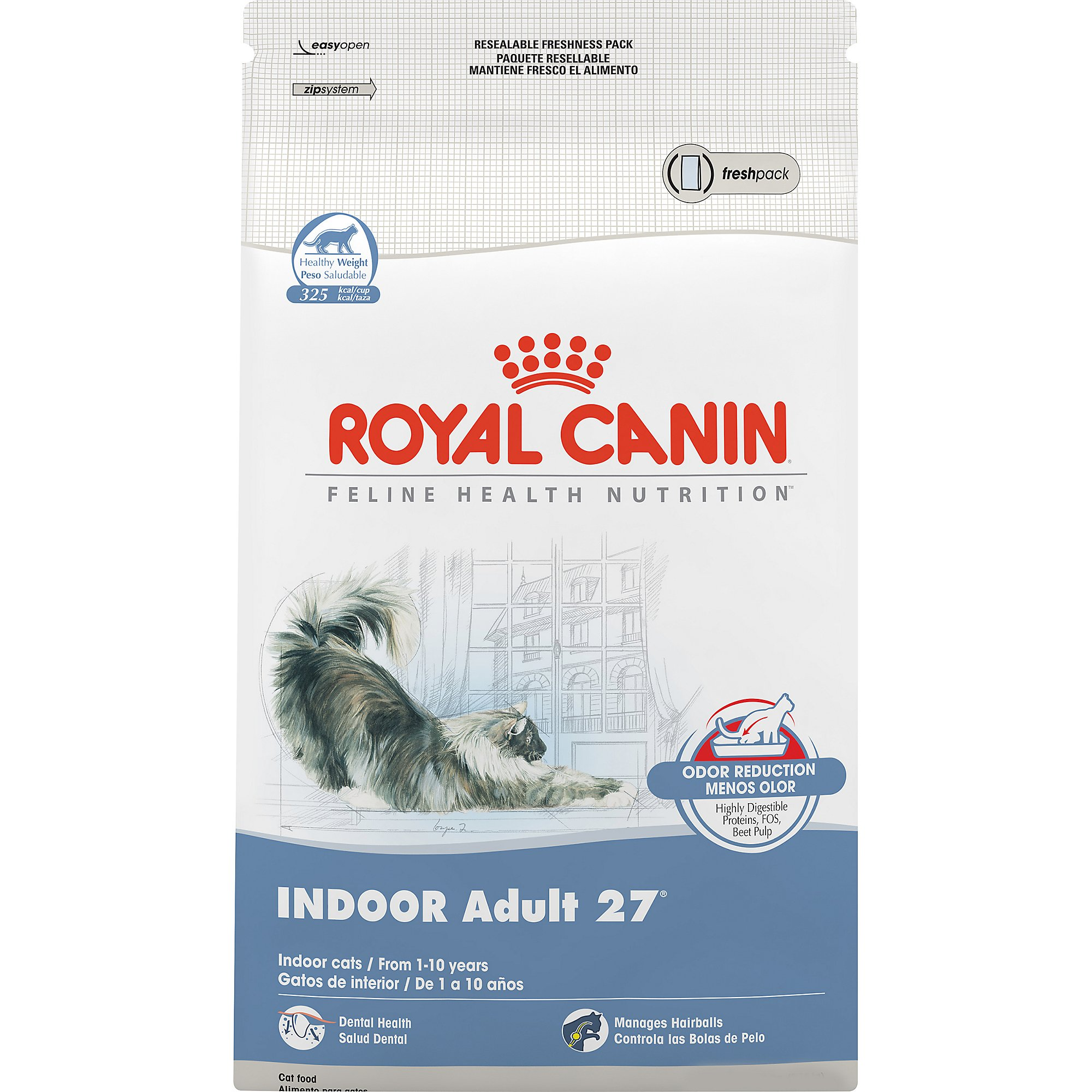 royal canin feline health nutrition indoor adult 27 7 lbs petco store. Black Bedroom Furniture Sets. Home Design Ideas