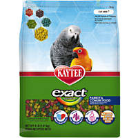 Kaytee Exact Rainbow Premium Daily Nutrition for Parrots & Conures