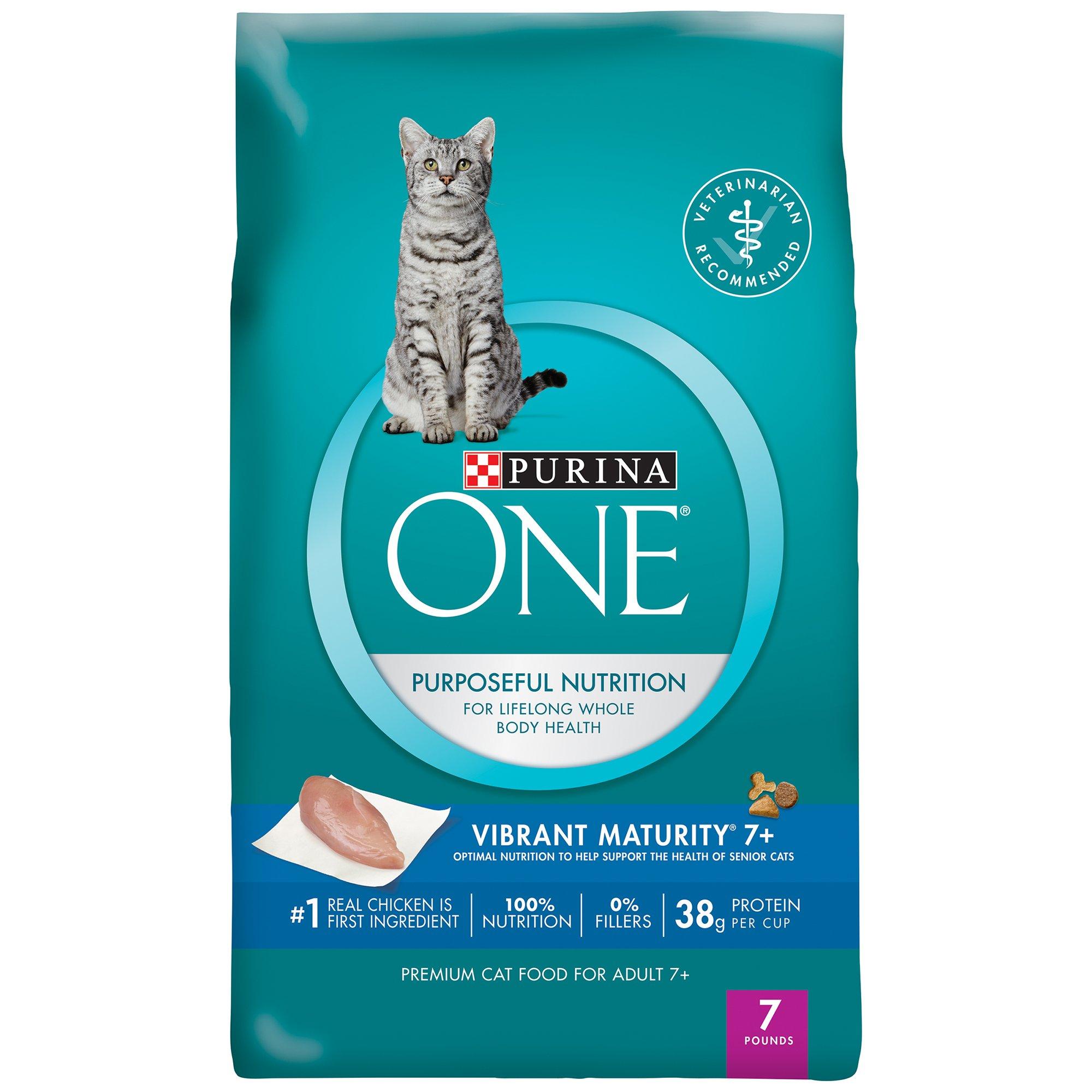 Purina ONE Vibrant Maturity 7 Plus Senior Cat Food