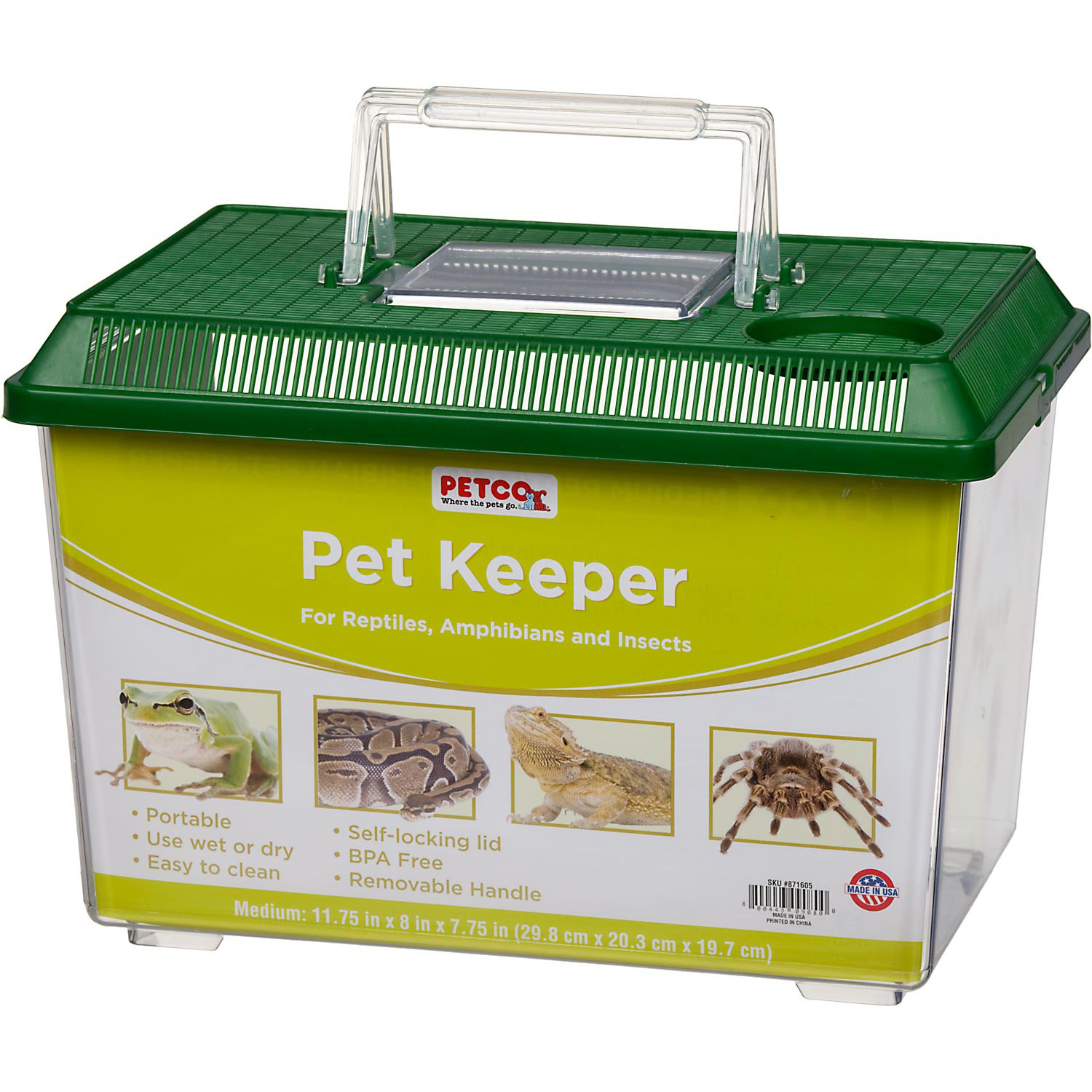Petco Pet Keeper for Reptiles, Amphibians and Insects