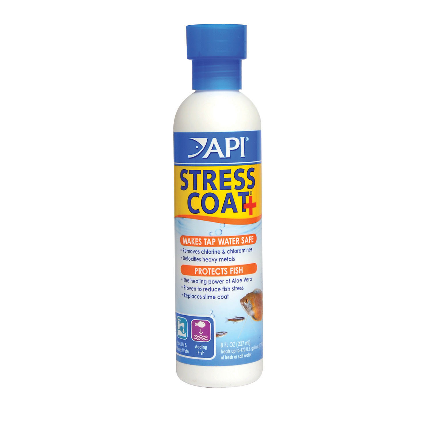 Aquarium Pharmaceuticals Stress Coat Aquarium Water Conditioner
