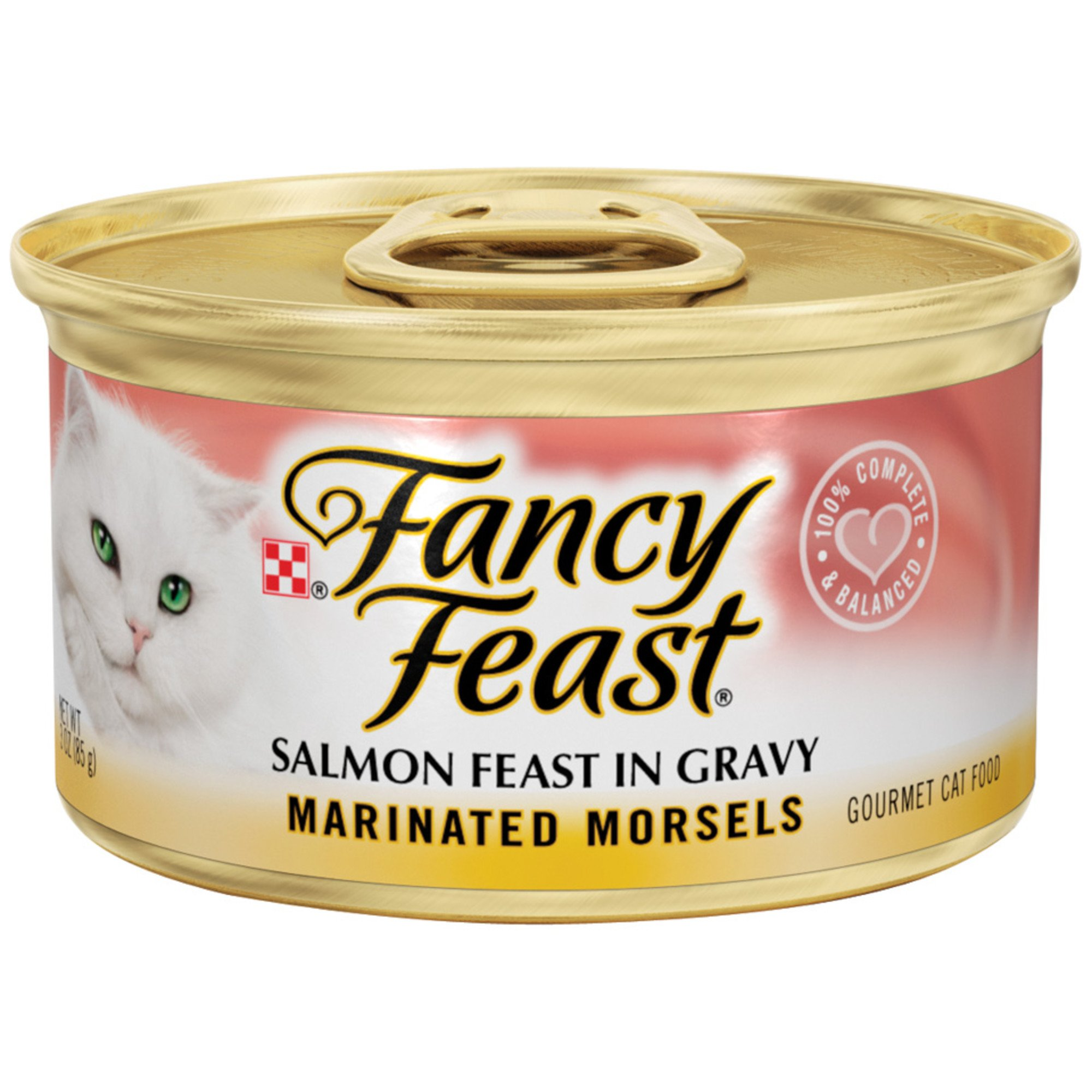 Fancy Feast Salmon Feast Marinated Gourmet Cat Food