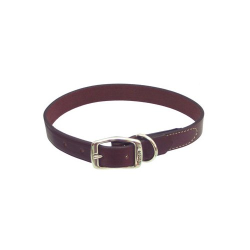 Petco Leather Collars in Mahogany