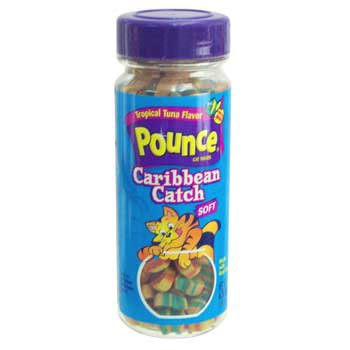 Pounce Caribbean Catch Soft Cat Treats