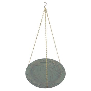 Whitehall Products Butterfly Hanging Birdbath in Gray