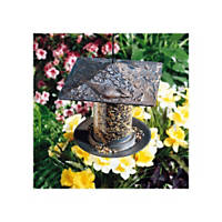 Whitehall Products Cardinal Tube Bird Feeder in Bronze