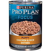 Pro Plan Focus Chicken & Rice Canned Puppy Food