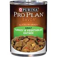 Pro Plan Savor Turkey & Vegetables Adult Canned Dog Food
