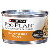 Pro Plan Savor Chicken & Rice Adult Canned Cat Food