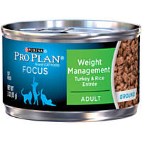 Pro Plan Focus Weight Management Canned Cat Food