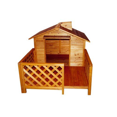 Merry Products Wood Pet Home- The Mansion