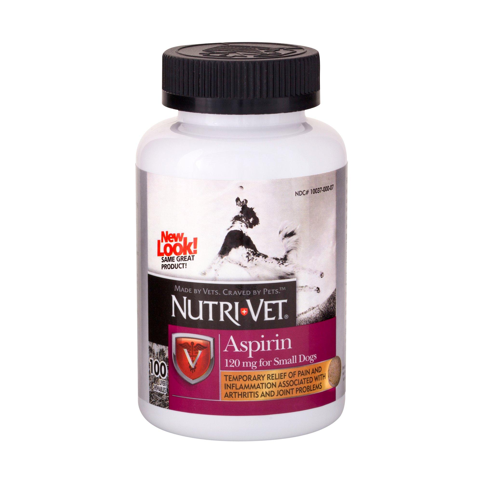 Nutri-Vet Nutritionals K-9 Aspirin for Small Dogs