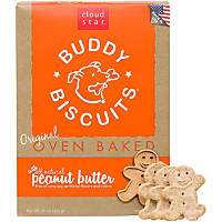 Cloud Star Buddy Biscuits Peanut Butter Dog Treats