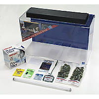SeaClear Rectangular 29 Gallon Show Junior Executive Kits in Clear