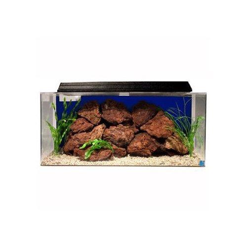 Seaclear system ii 40 gallon aquarium combos in blue petco for Sea clear fish tank