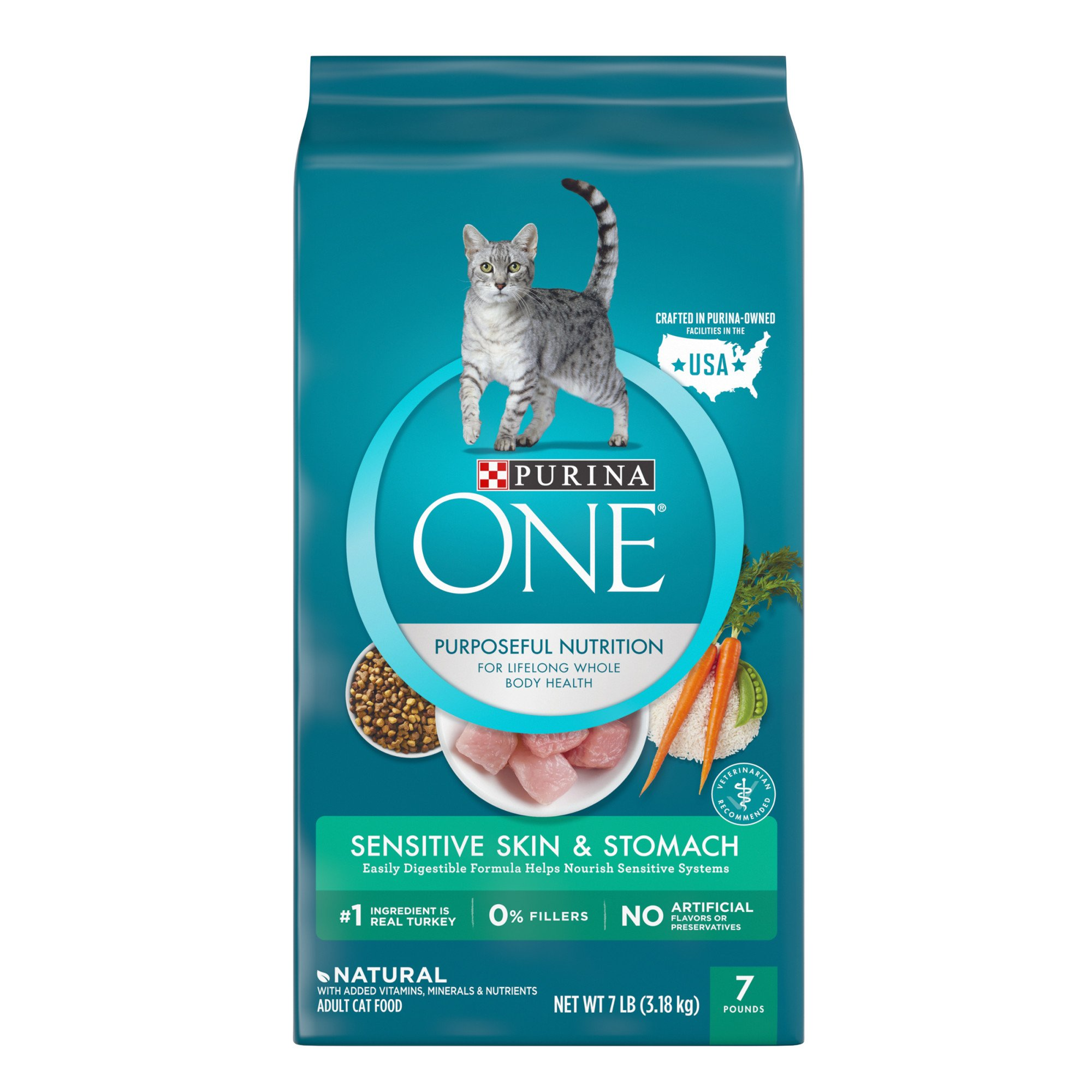 Purina Veterinary Diets EN Gastroenteric Canine Formulas provide complete and balanced nutrition for growth of puppies and maintenance of the adult dogs.