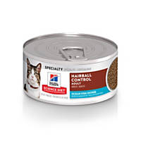 Hills Science Diet Adult Hairball Control Ocean Fish Entree Canned Cat Food