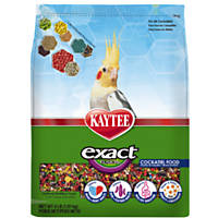 Kaytee Exact Fusion Optimal Nutrition Diet for Cockatiels