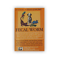 Perfect Pet Products Fecal Worm Test at Home