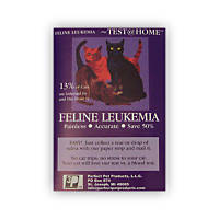 Perfect Pet Products Feline Leukemia Test at Home