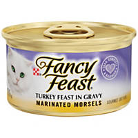 Fancy Feast Turkey Feast in Savory Juices Marinated Gourmet Cat Food