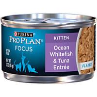 Pro Plan Focus Oceanfish & Tuna Canned Kitten Food