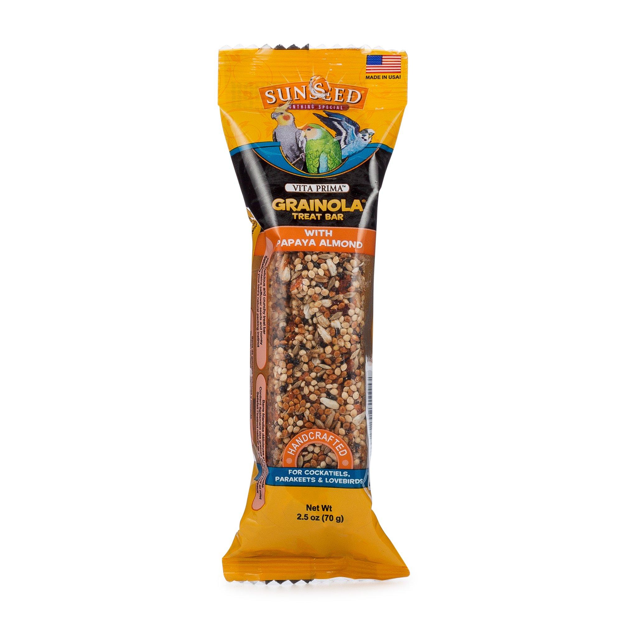 Sun Seed Sunthing Special Papaya Almond Grainola Bar