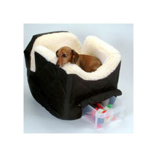 Snoozer Black Pet Car Seat Lookout II