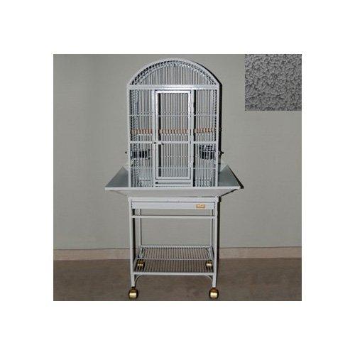 Avian Adventures Nina Dometop Bird Cages in Platinum