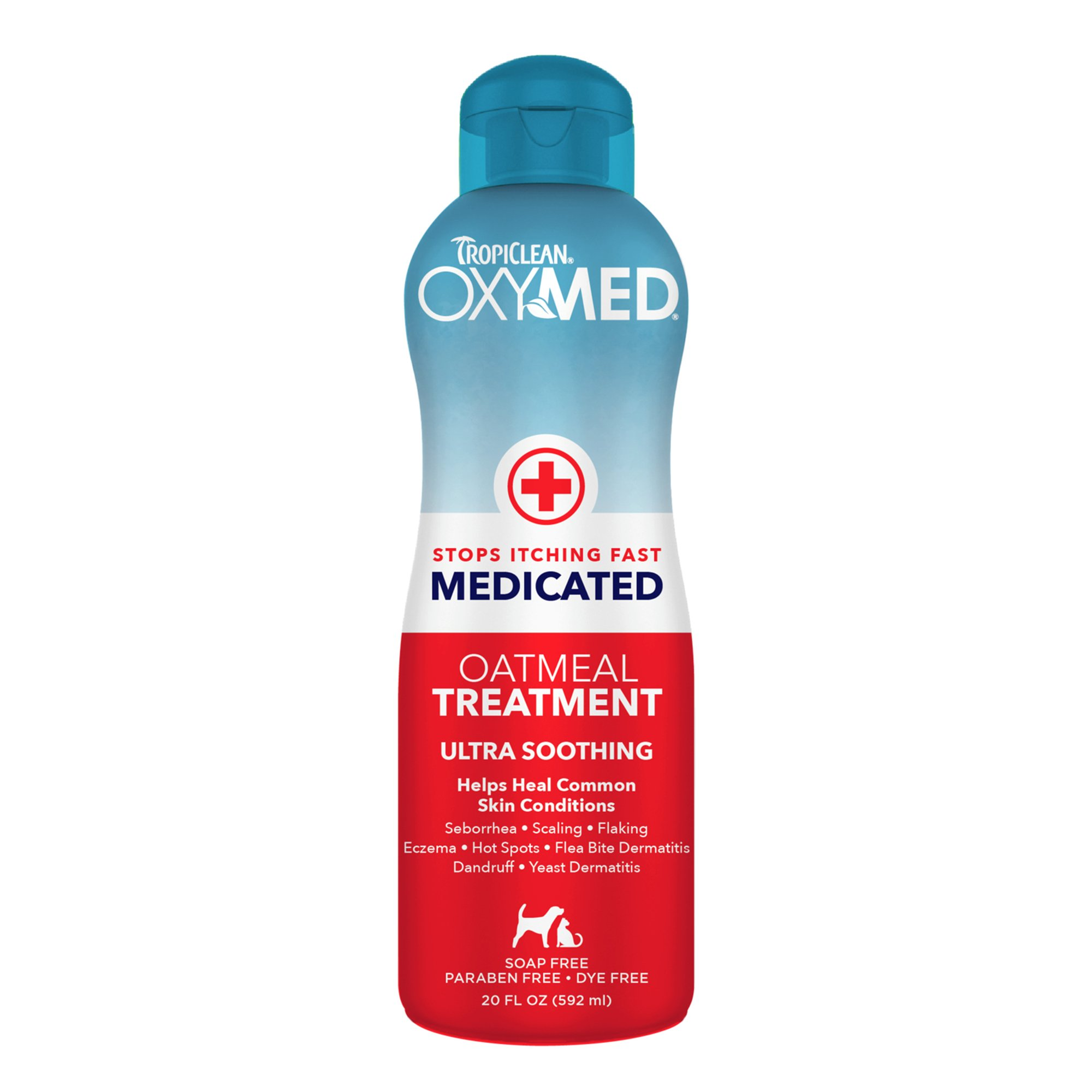 TropiClean Oxy-Med Medicated Oatmeal Rinse