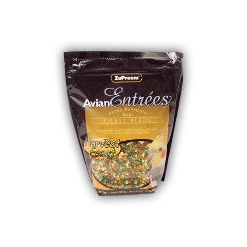 ZuPreem Avian Entrees Ultra Premium Diet for Small Birds Harvest Feast Mix