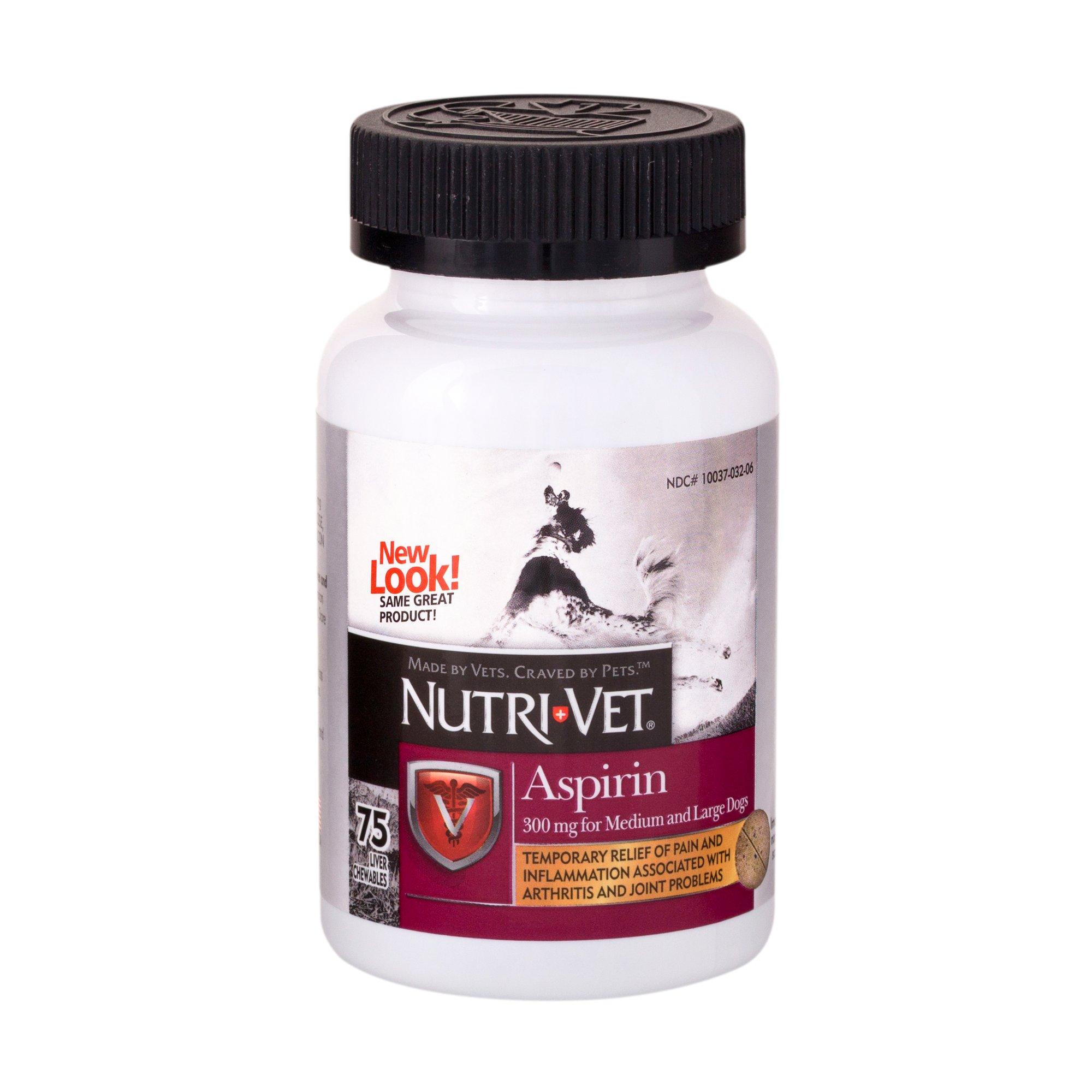 Nutri-Vet Nutritionals K-9 Aspirin for Medium & Large Dogs