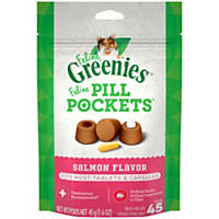 Greenies Salmon Feline Pill Pockets