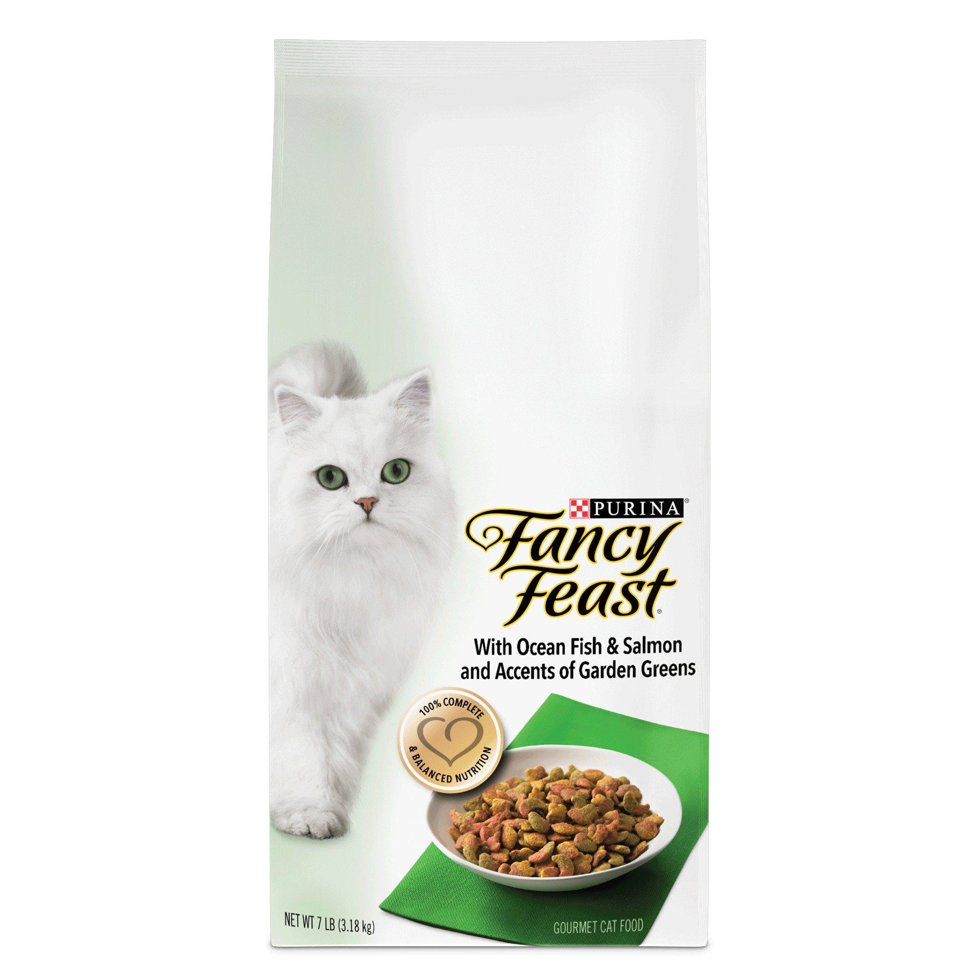 Fancy Feast Gourmet Gold Ocean Fish & Salmon Dry Cat Food