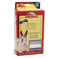 LM Animal Farms Absorbent Cage Liners for Small Animals