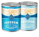Blue Canned Food For Dogs Product Freedom