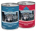 Blue Canned Food For Dogs Product Wilderness